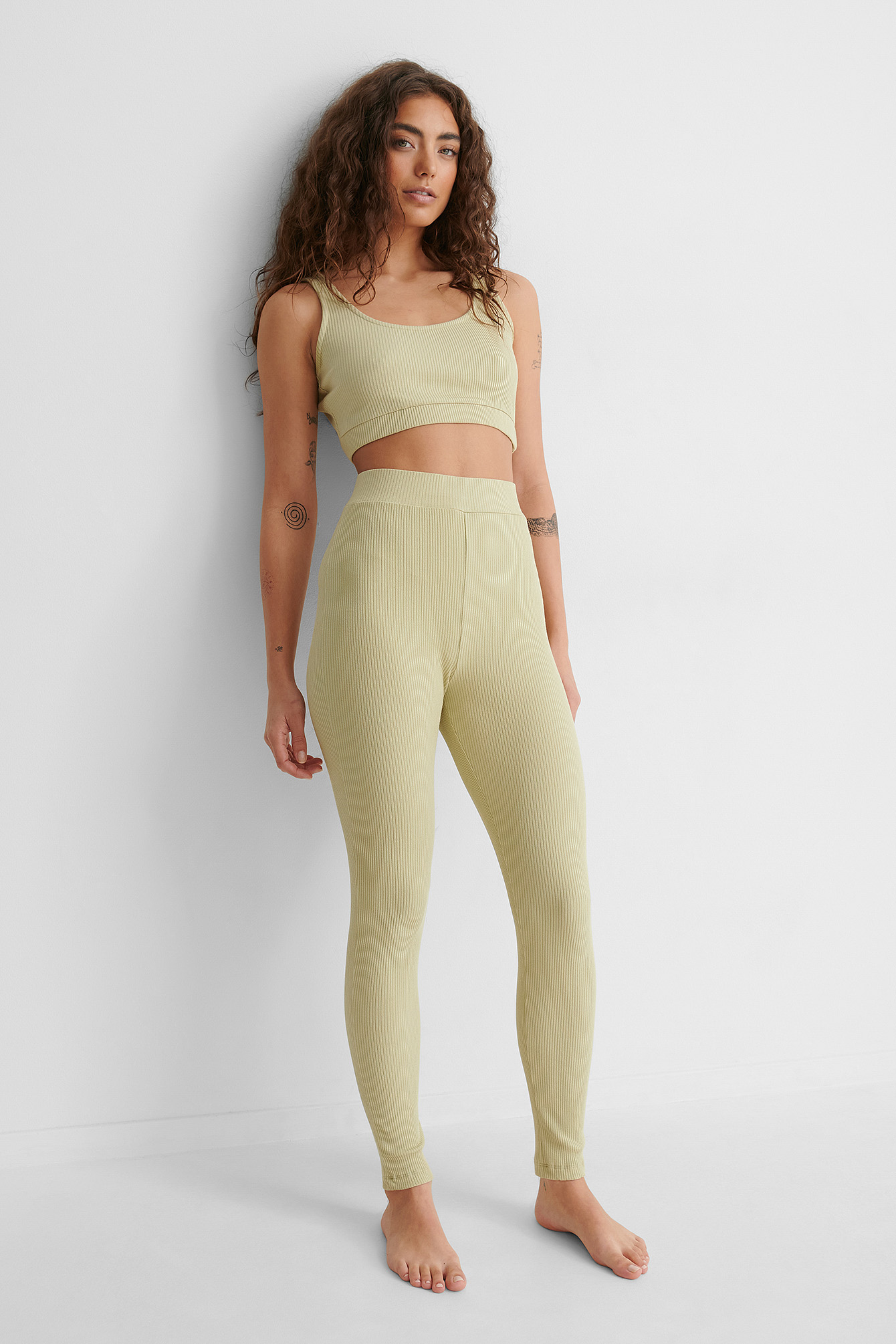 Beige/Khaki Leggings
