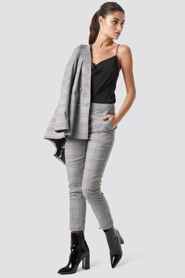 Ankle Suit Pants Julia Wieniawa x NA-KD