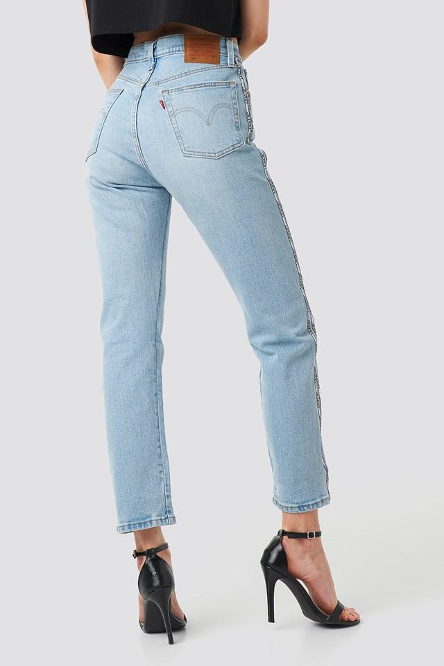 501 Crop Jeans Dibs W/ Tape