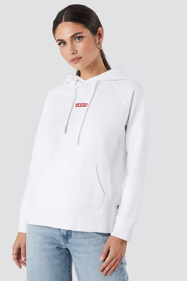 Graphic Sport Baby Hoodie White