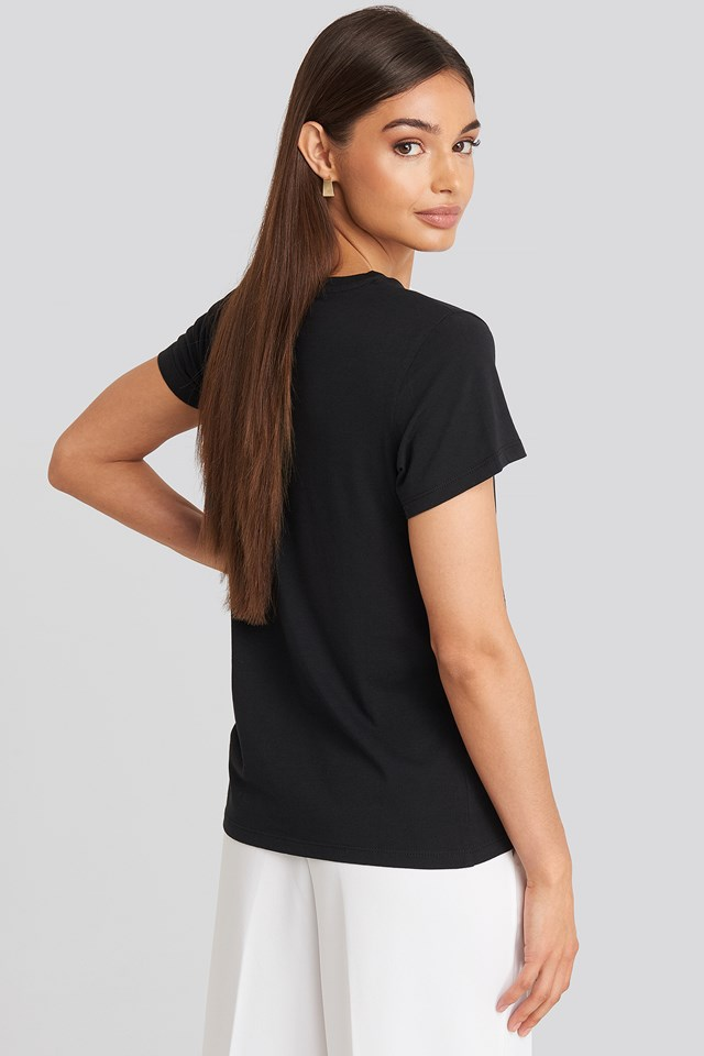 The Perfect Tee Black/Red