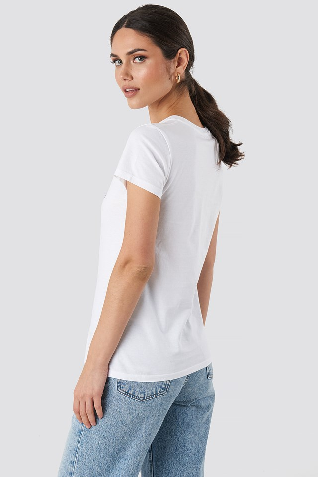 The Perfect Tee Fill White