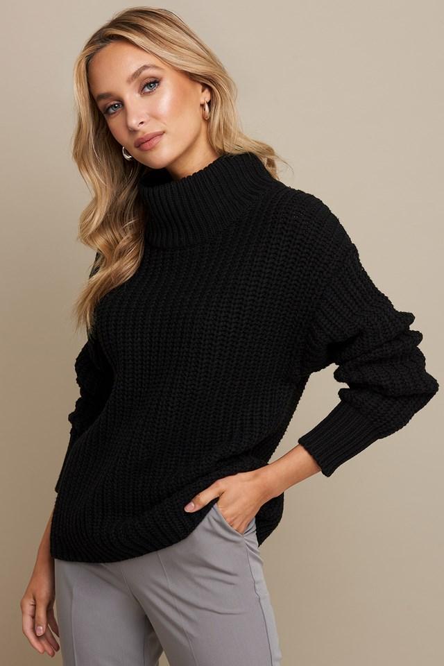 Chunky Sweater Black