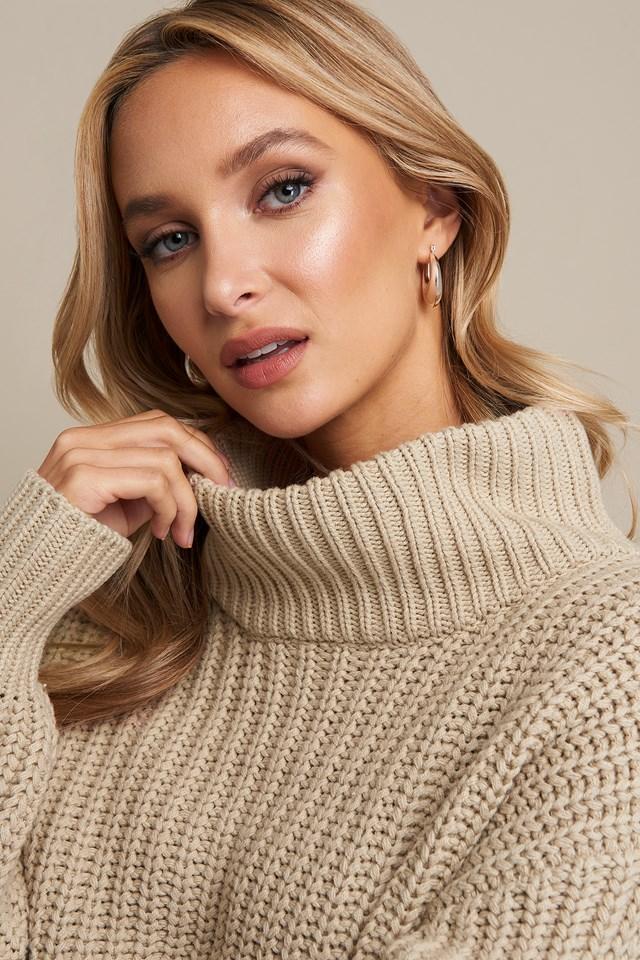 Chunky Sweater Beige
