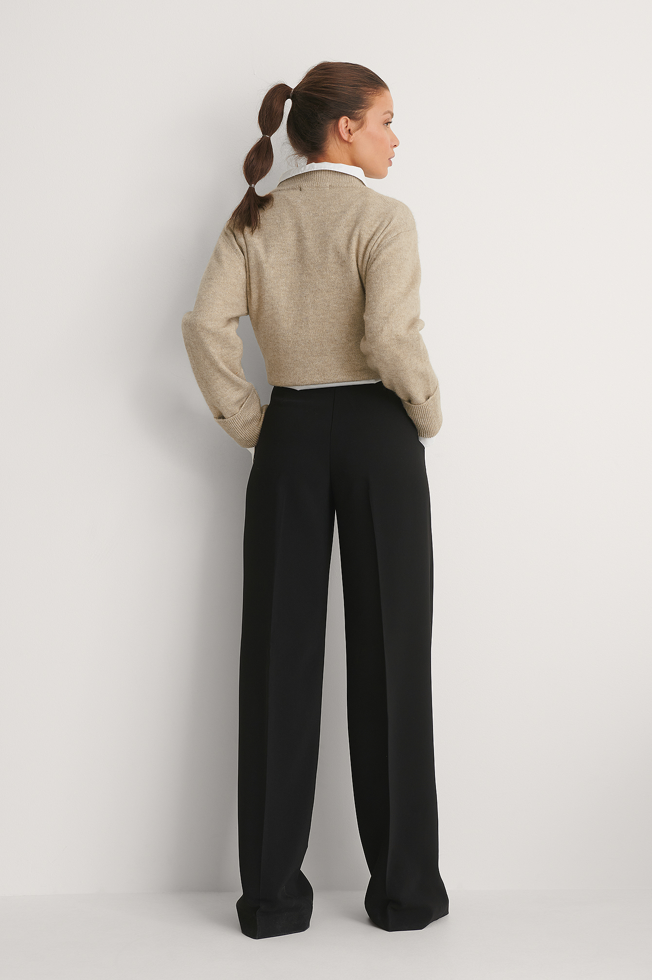 Black Bernat Trousers