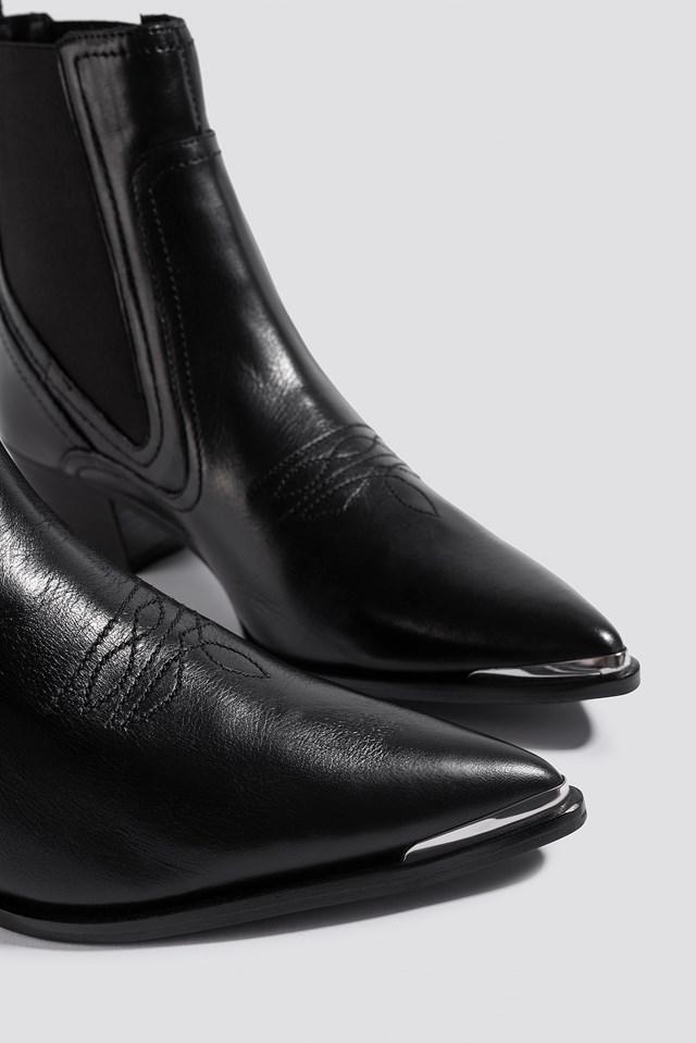 Bufalo Ankle Boots Black