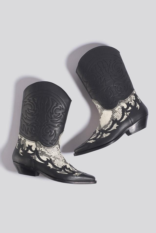 Dalton Ankle Boots Black