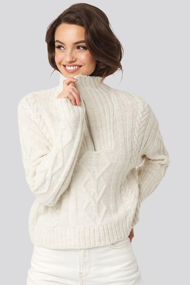 Dany Sweater Light Beige