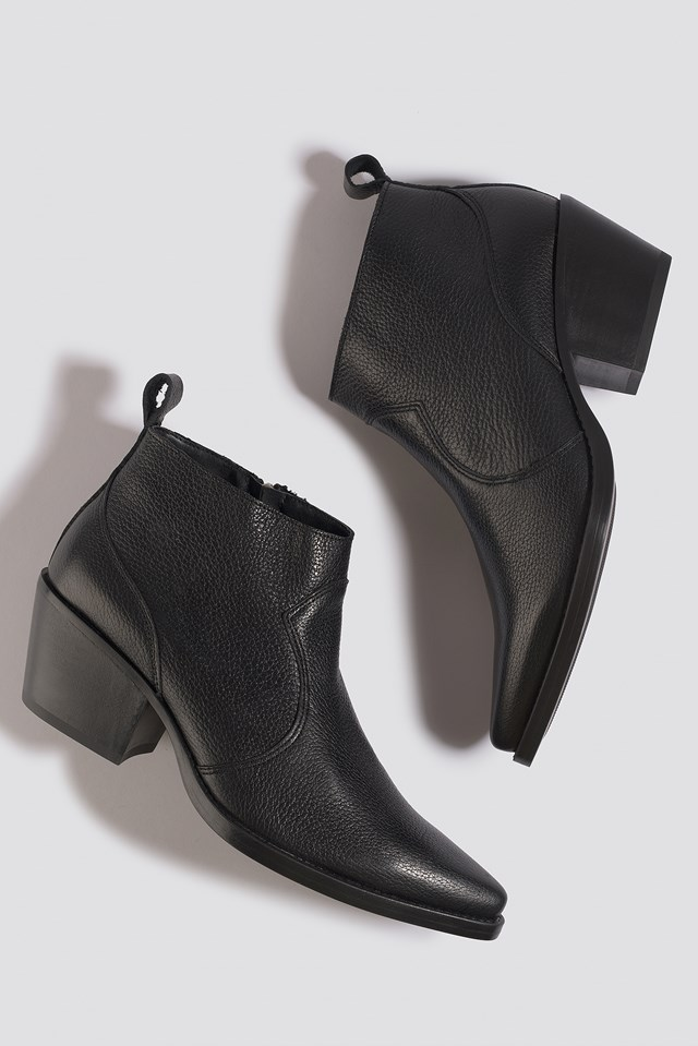Greco Ankle Boots Black