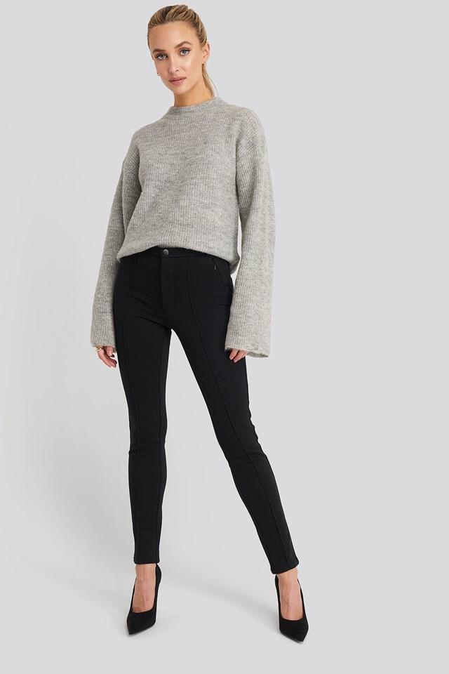 Gum Trousers Black