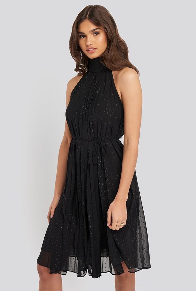 Kahalter Dress Black