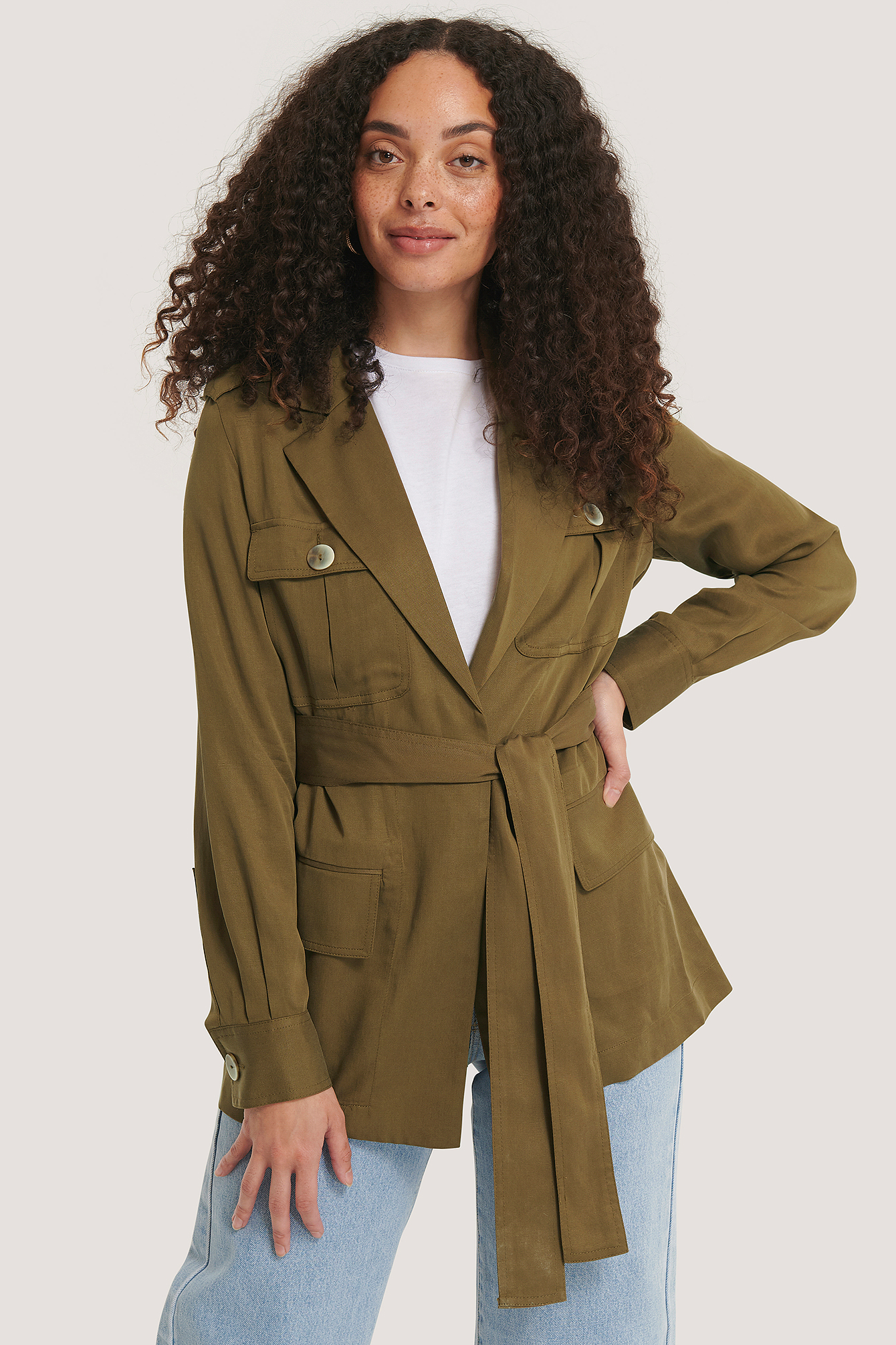 Khaki Ken Trench Coat