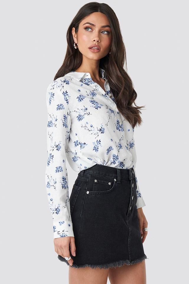 Lino Shirt Blue