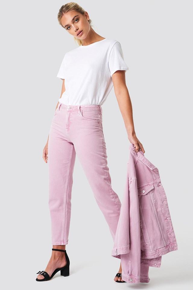Malva Jeans Light Purple