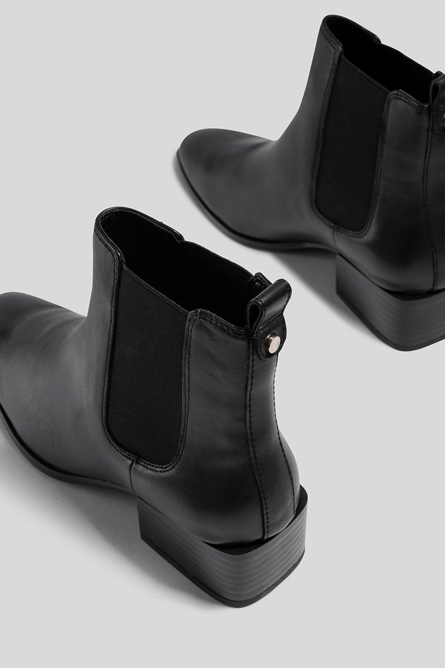 Mess Ankle Boots Black
