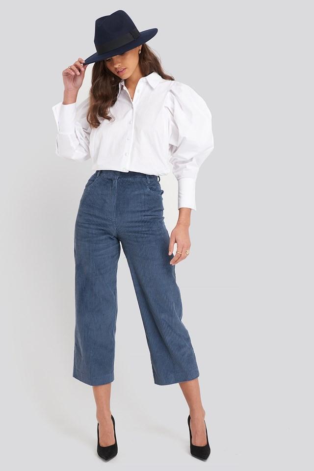 Pan Trousers Medium Blue