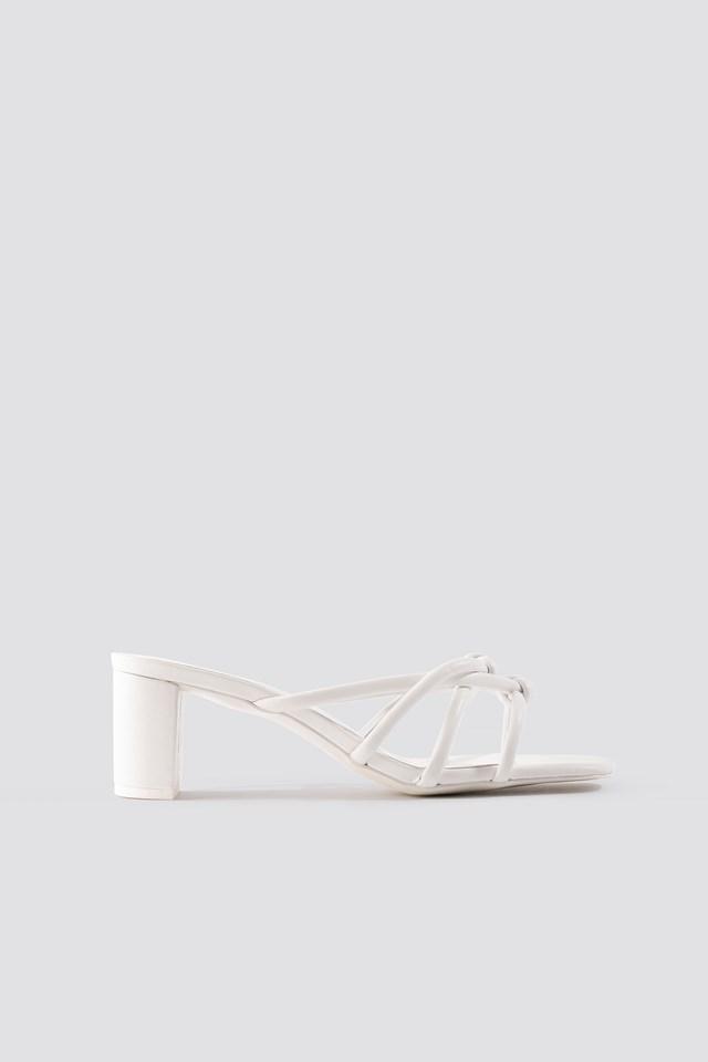 Pila Sandals White