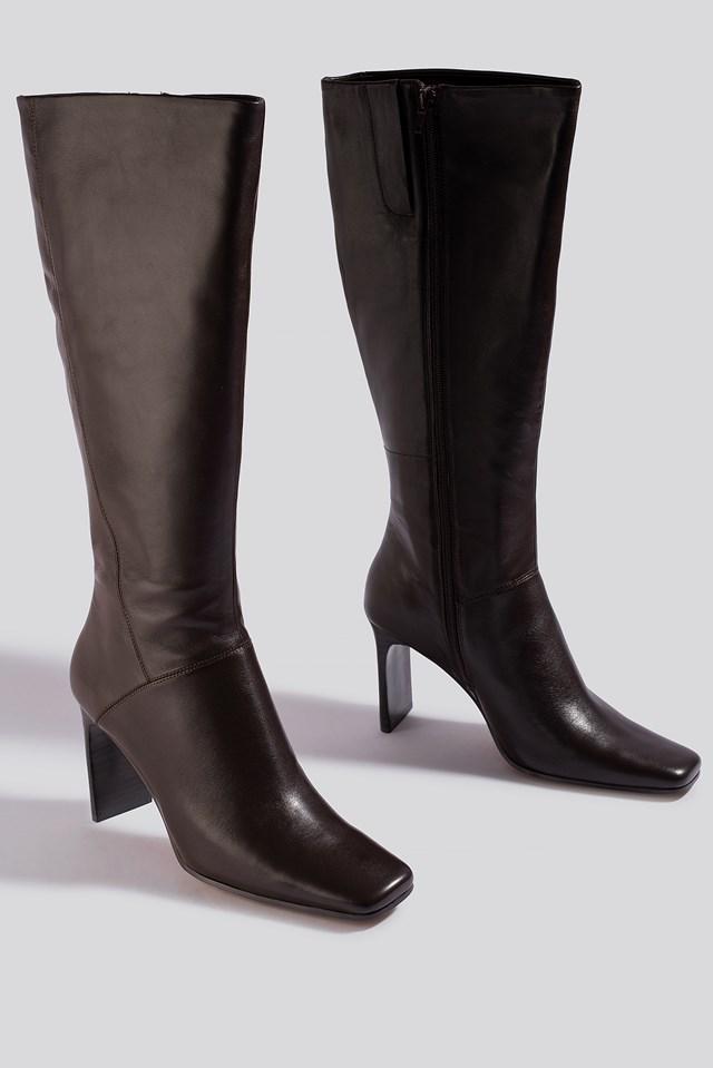 Retro B Boots MANGO