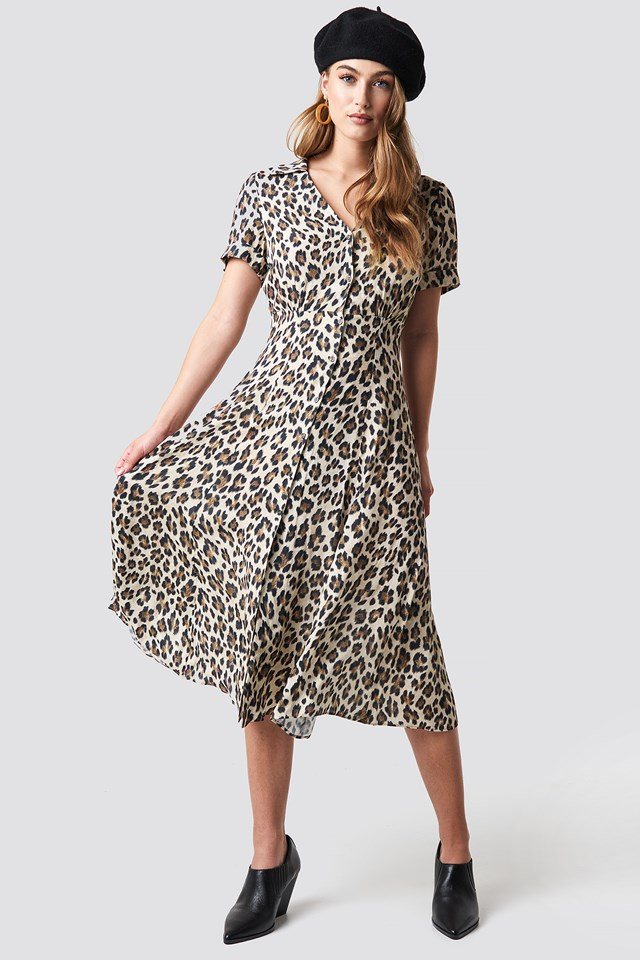 Roma Dress Brown