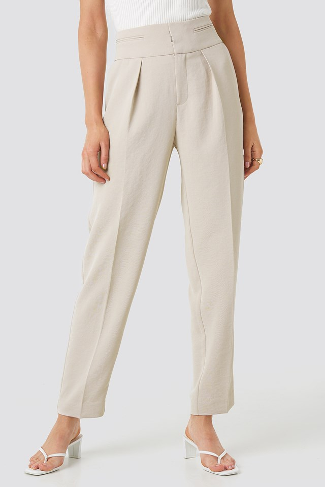 Soho Trousers Beige