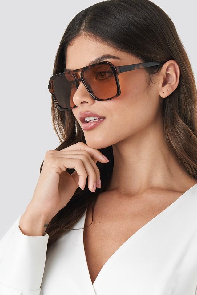 Tayla Sunglasses Chocolate