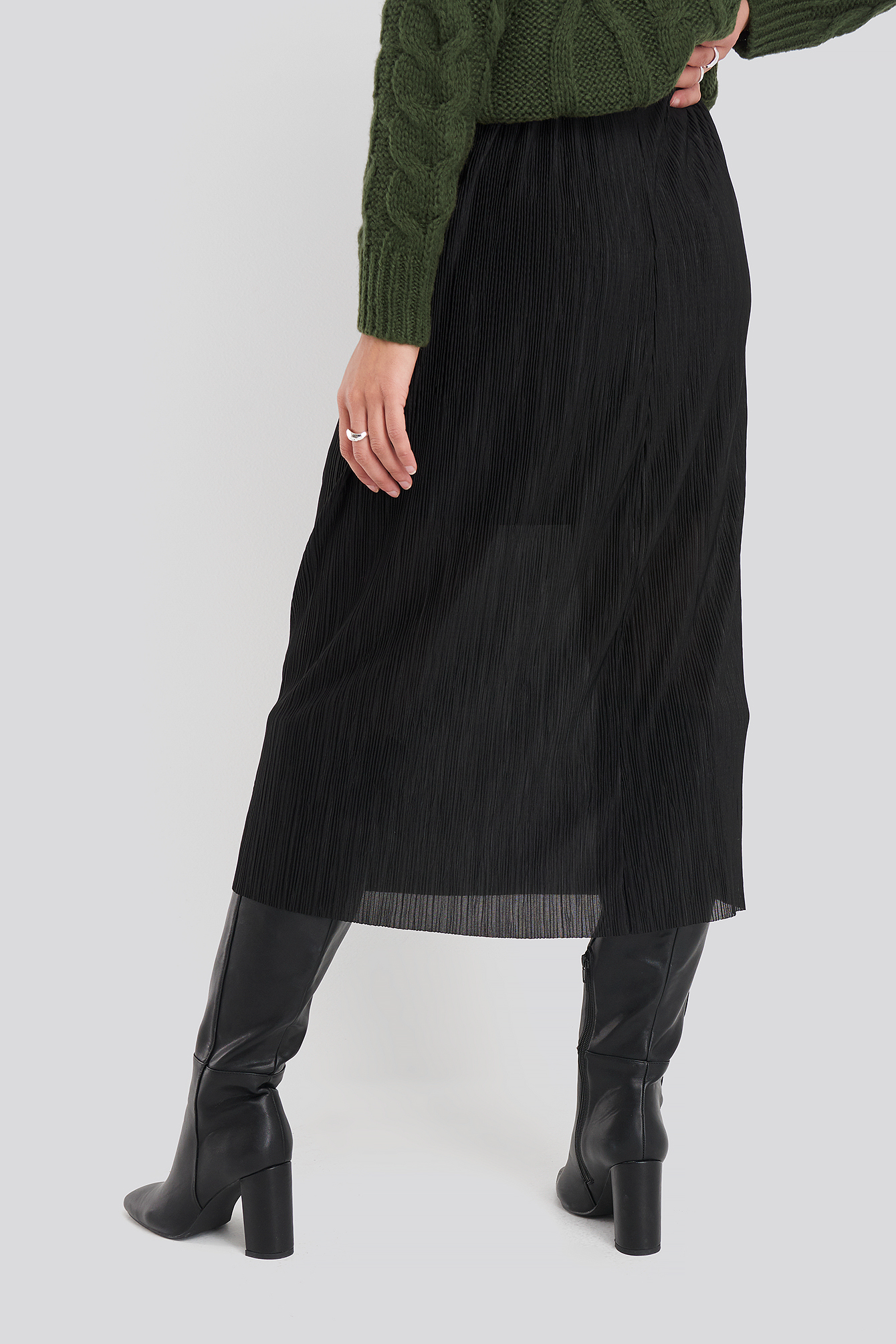 Black Vices Skirt