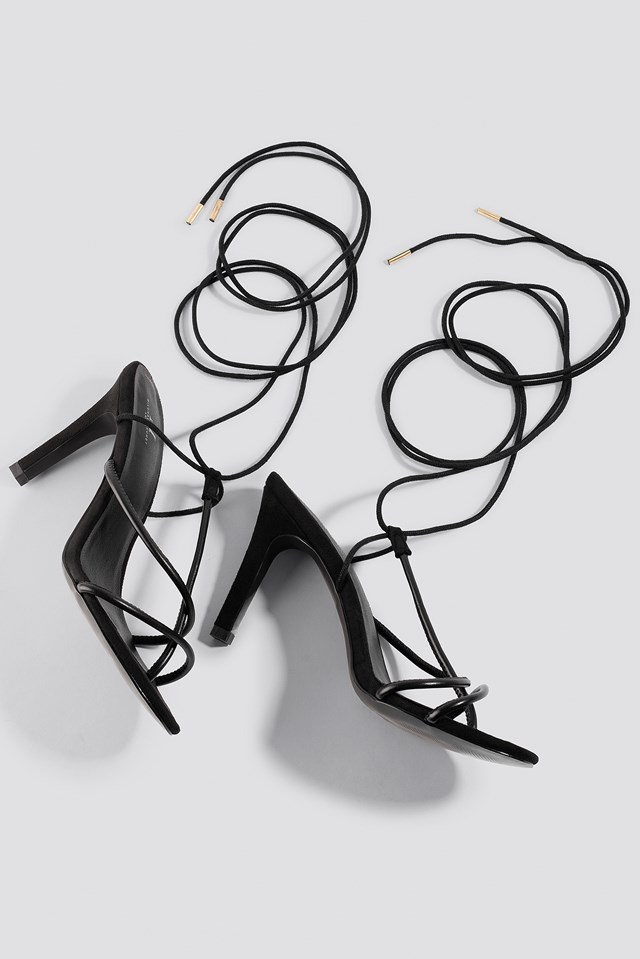 Strappy Sandal Black