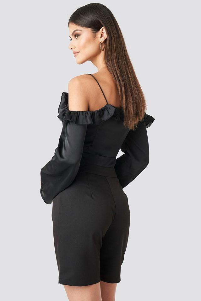 Easy Mid Length Short Black