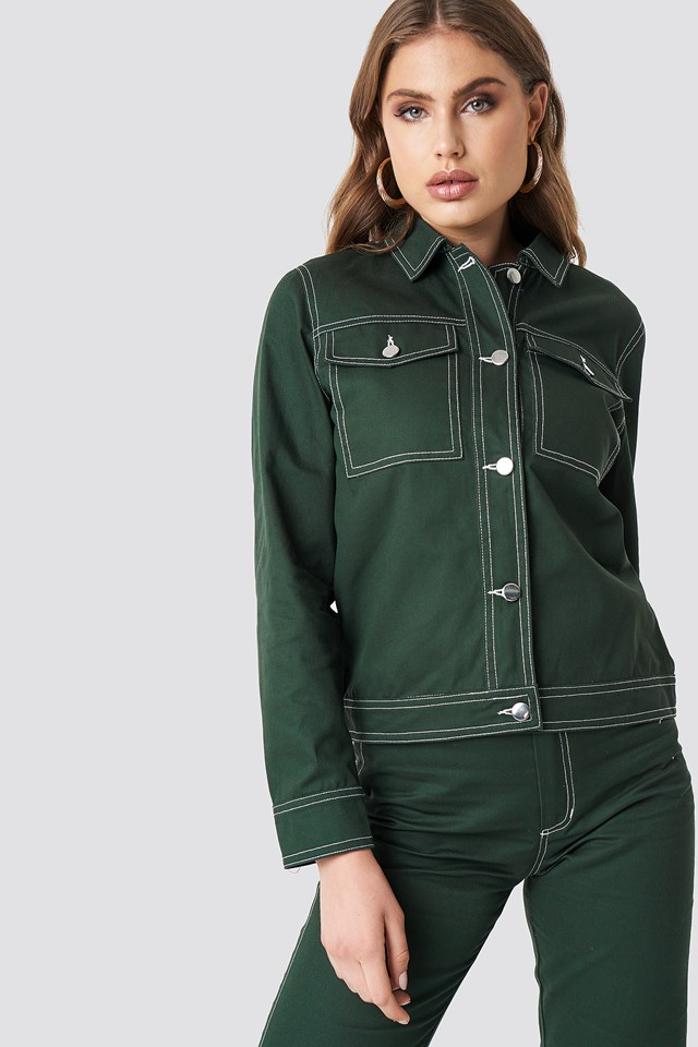 Fauna Jacket Hunter Green