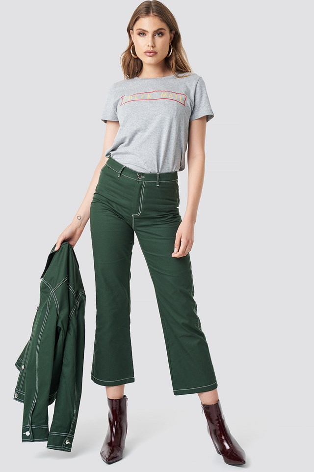 Misanda Pants Hunter Green