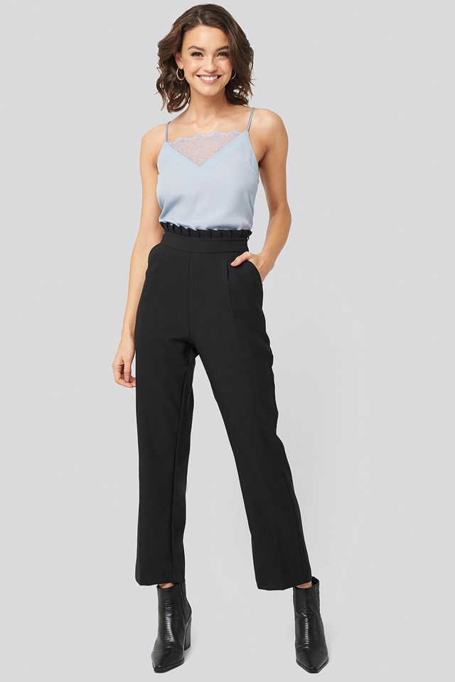 Pleat Detail Suit Pants Nadine x NA-KD