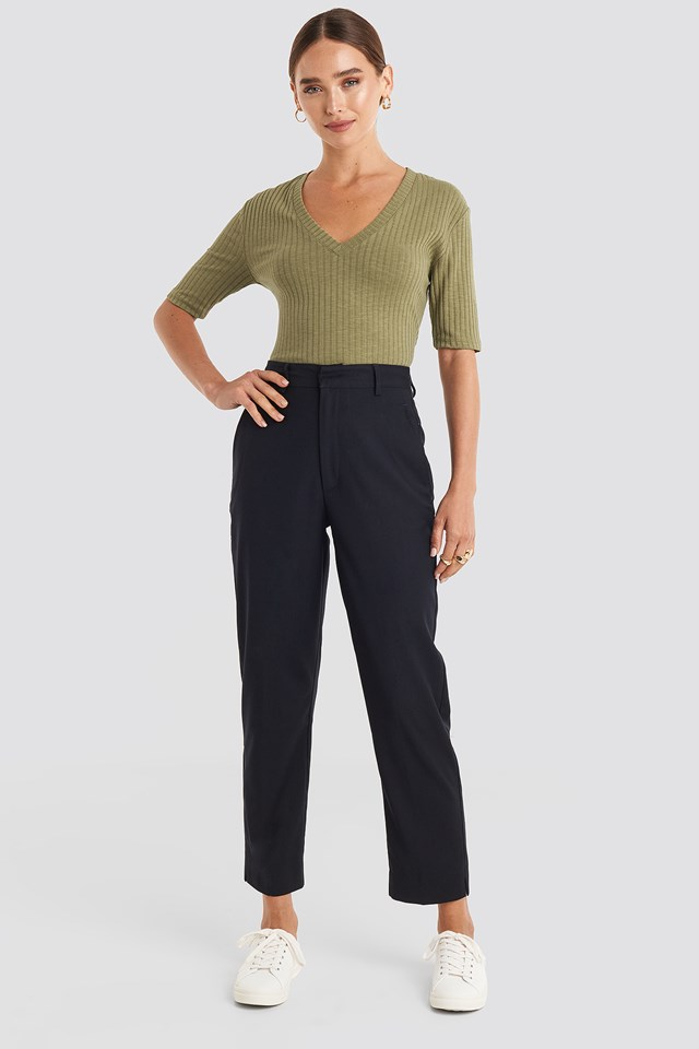 Ankle Suit Pants NA-KD Trend