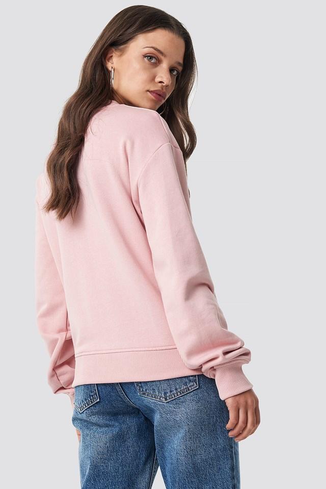 Basic Sweater Dusty Pink