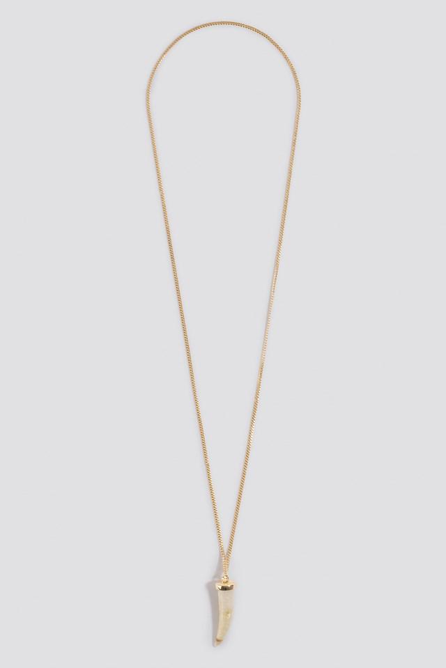 Big Horn Necklace Gold