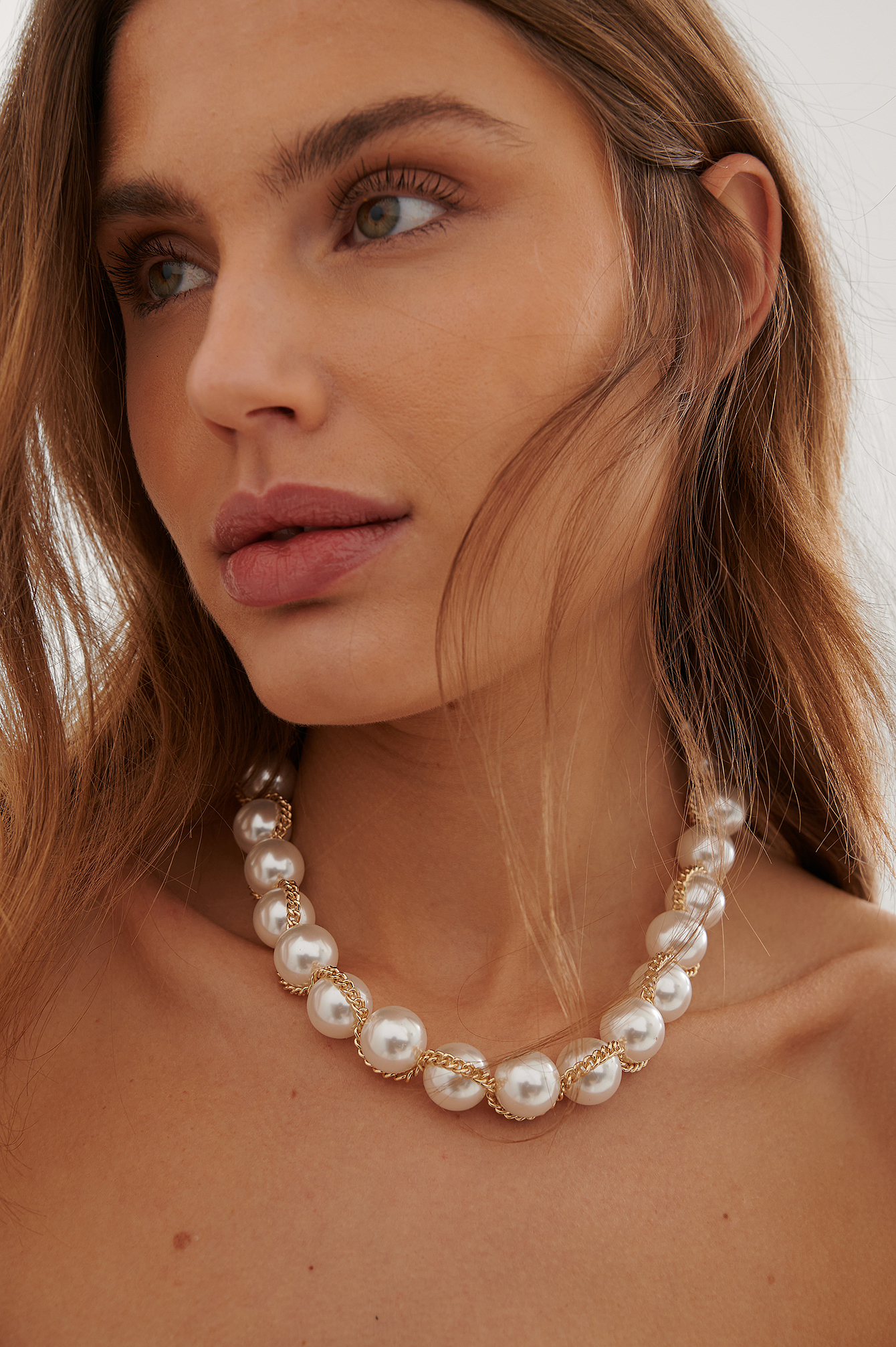 Pearl Big Pearl Necklace