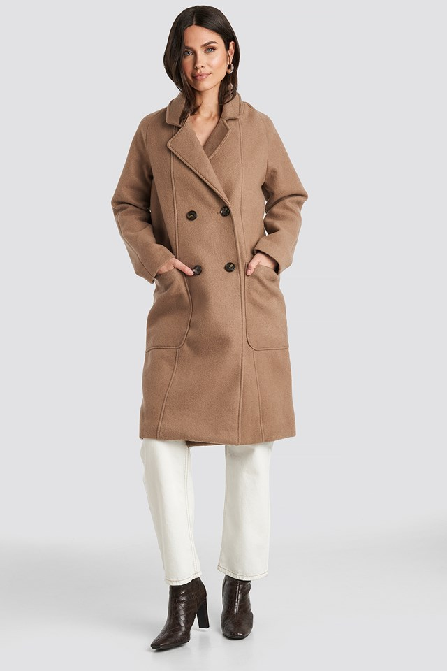 Big Pocket Coat NA-KD Trend