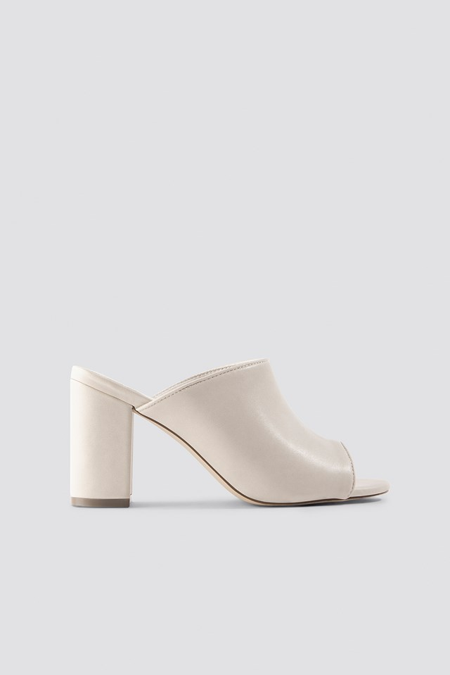 Block Heel Mules NA-KD Shoes