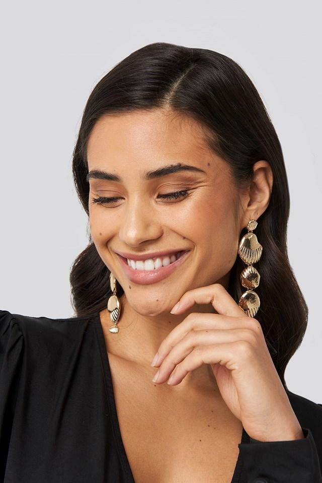Denmark Earrings Gold