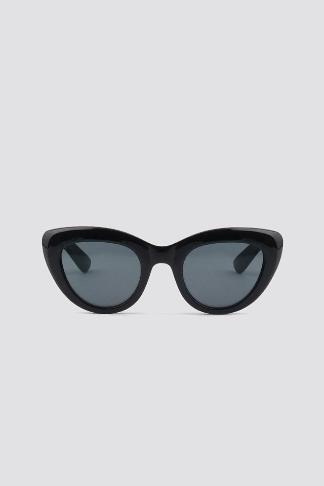 Cat Eye Sunglasses Black