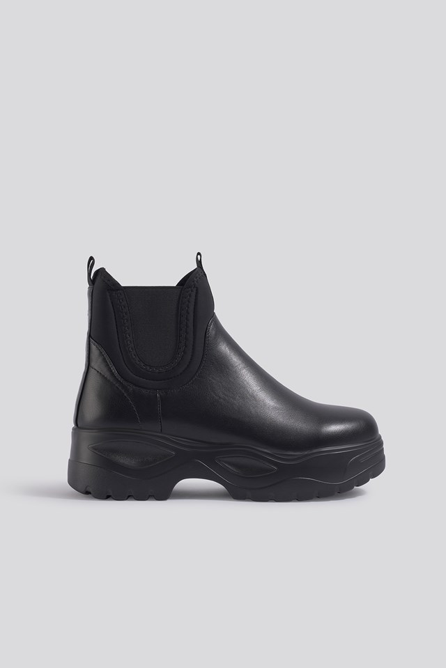 Chunky Chelsea Boots NA-KD Shoes