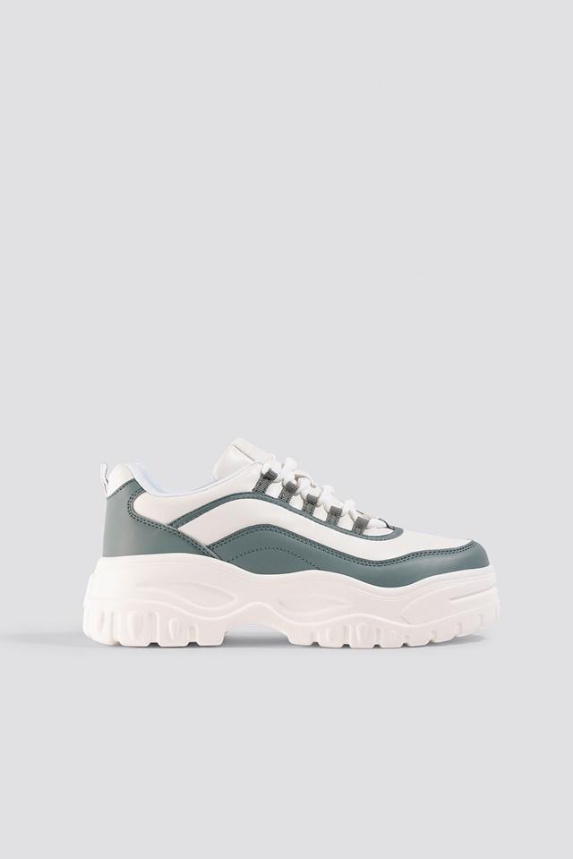 Chunky Sole Sneakers Dusty Mint