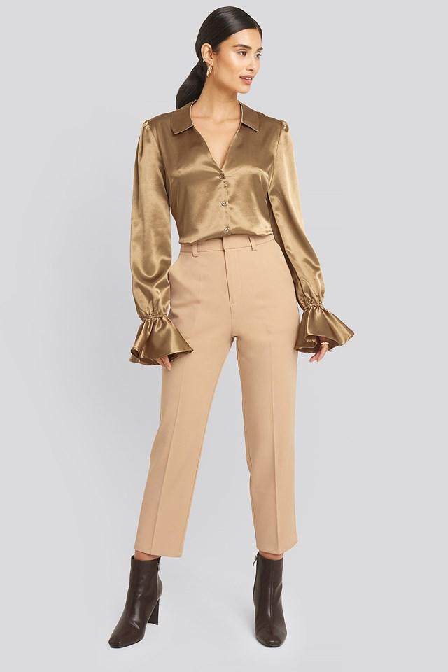 Creased Suit Pants AFJ x NA-KD