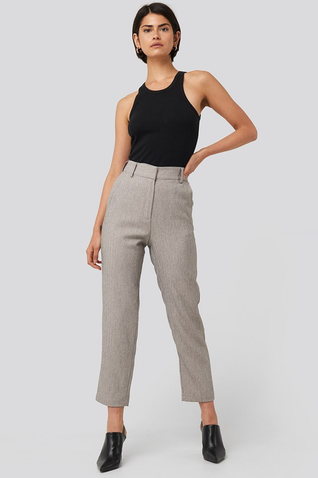 Cropped Suit Pants NA-KD Classic