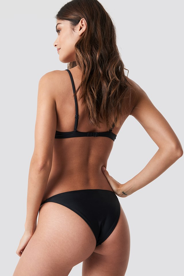 Cup Bikini Bra Black