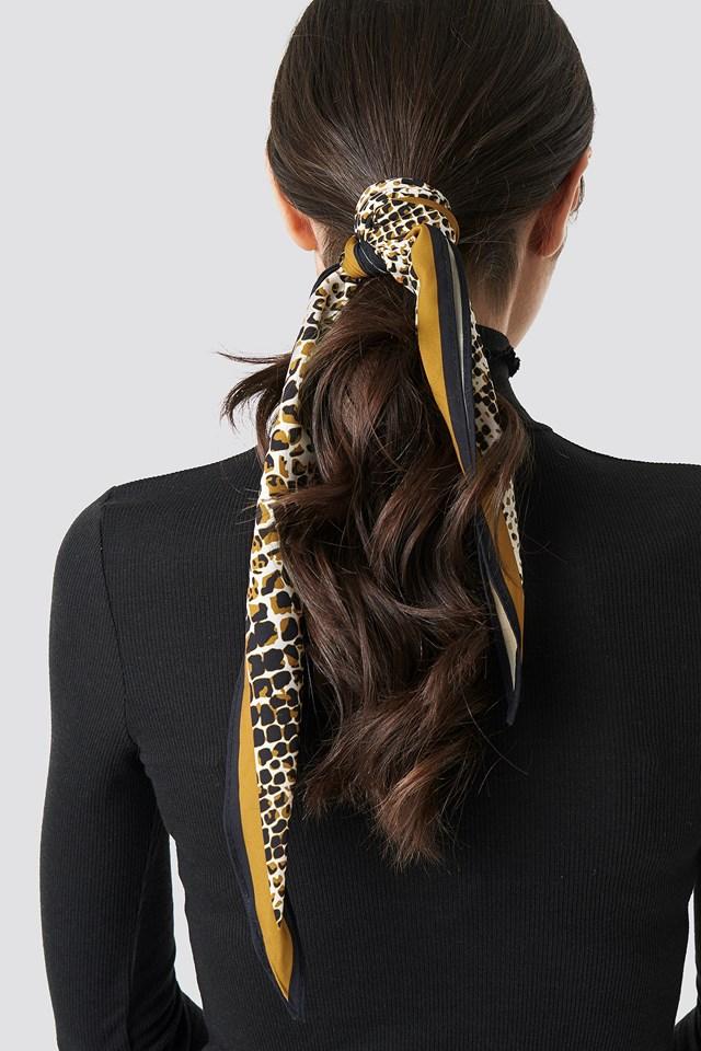 Dark Snake Hair Scarf Snake