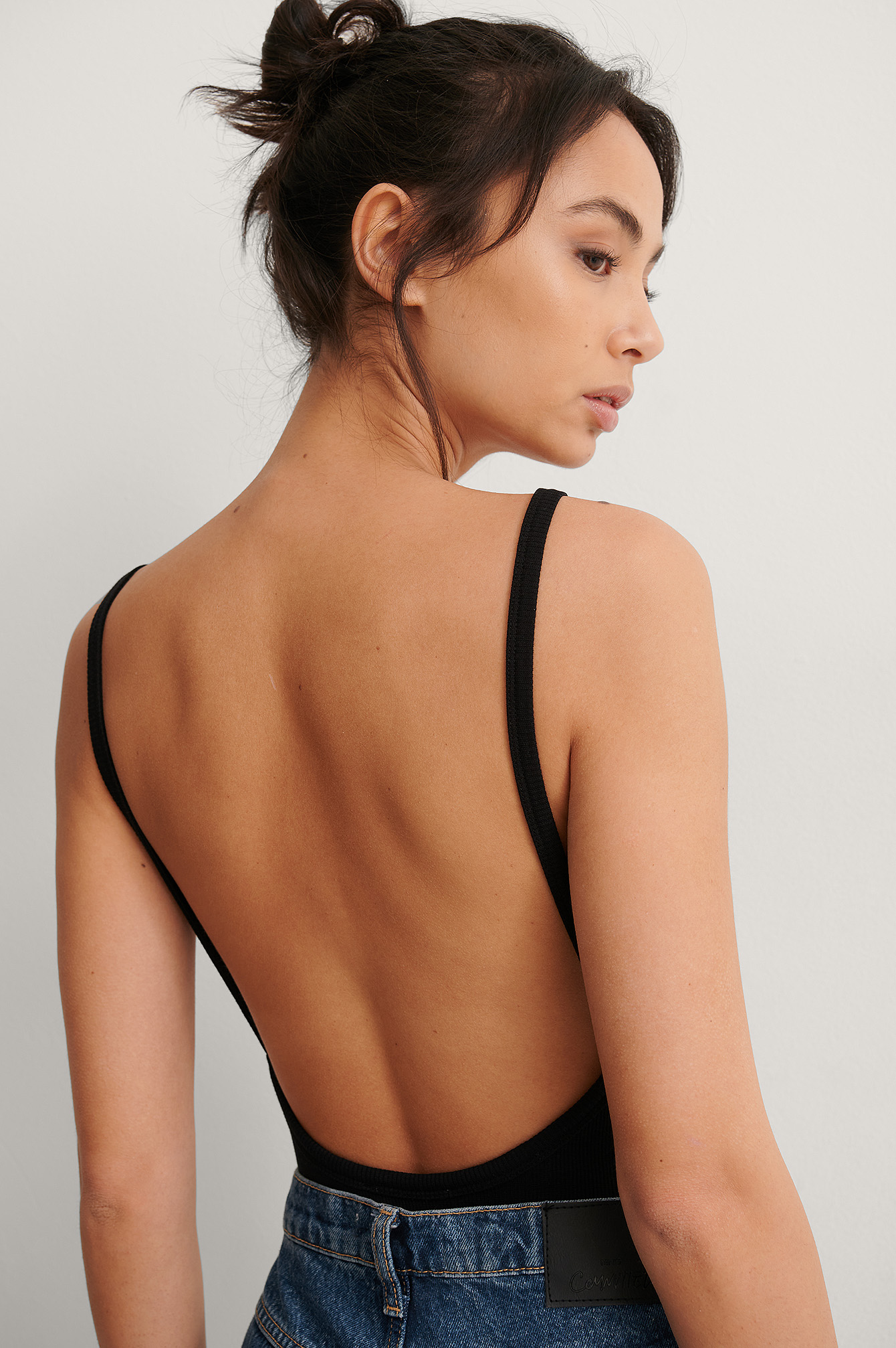 Black Deep Back Rib Body