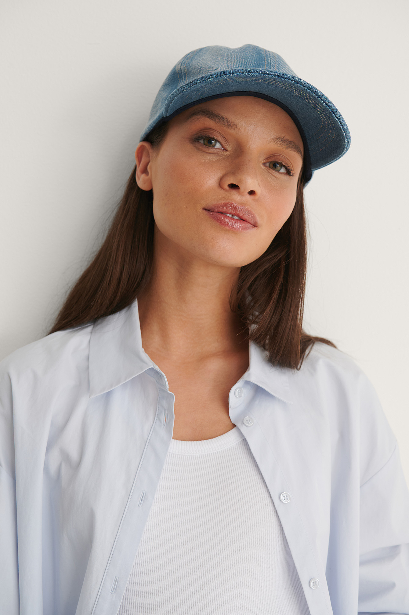 Blue Denim Cap