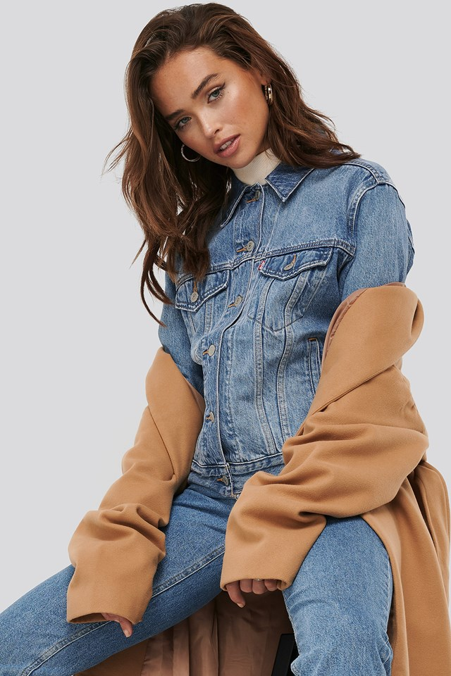 Exboyfriend Soft Trucker Jacket Levi's