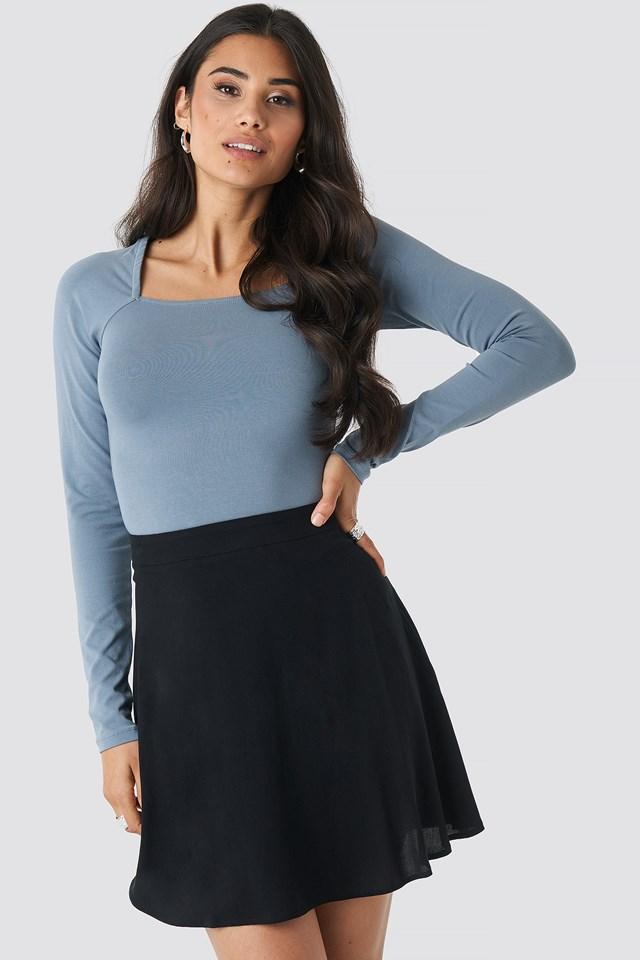 Flowing Skirt Black