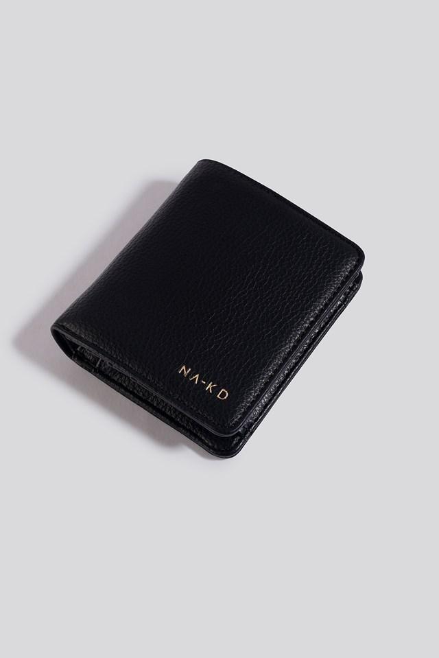 Folded Wallet Black